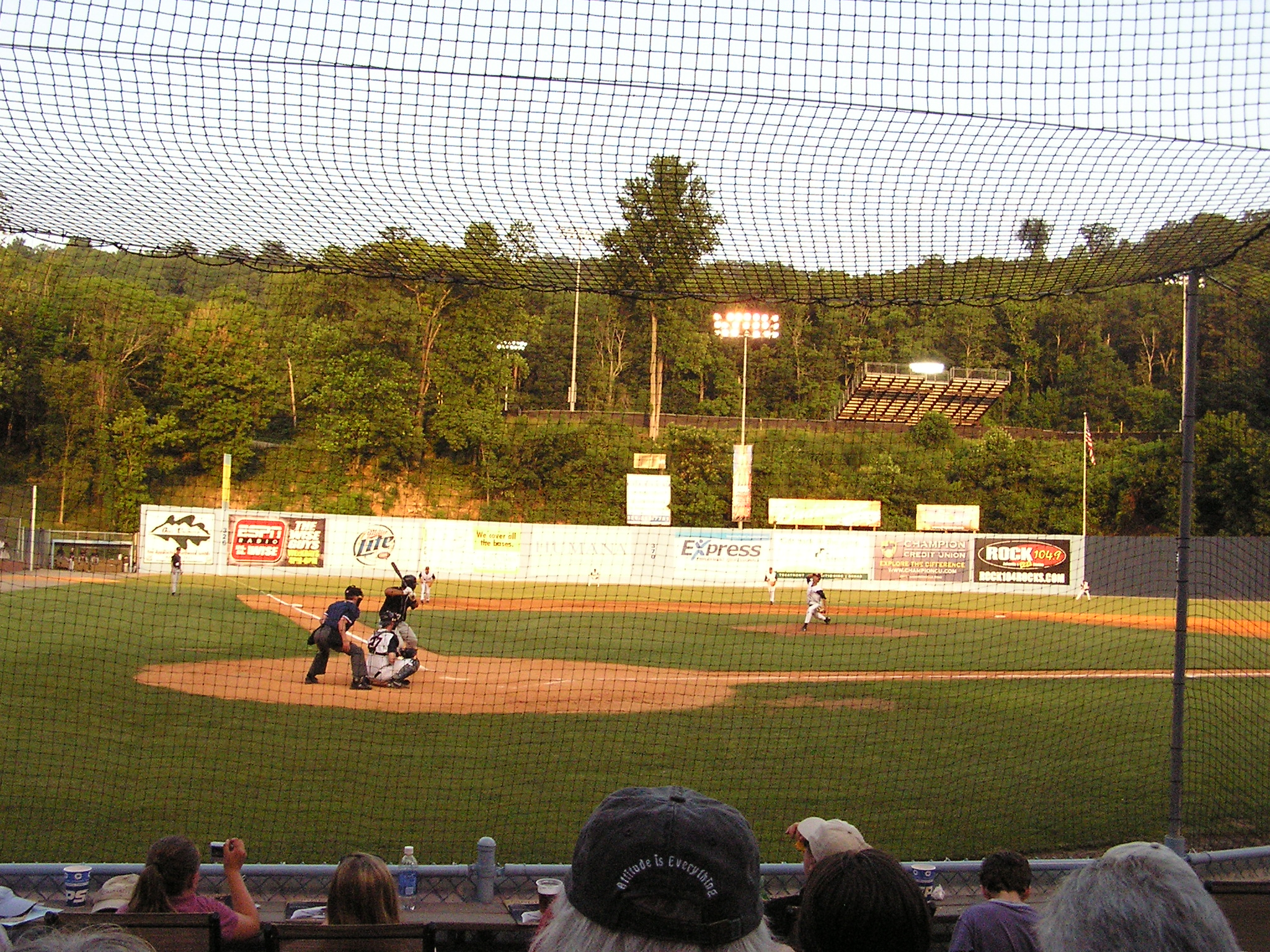 The Pitch, McCormick Field, Asheville, NC